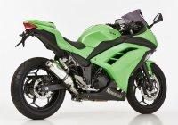 Hurric Supersport Exhaust Exhaust Super short Kawasaki Z300