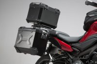 Adventure-Set Luggage Silver. Yamaha MT-09 Tracer/Tracer...