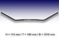 FEHLING Flyer-Bar Large 1 Zoll, B:101 cm, Kerbe, schwarz