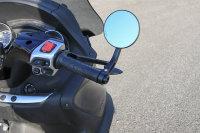 CLUBMAN Handlebar end mirror, black, E-tested