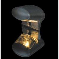 - Kein Hersteller - License plate light oval, black