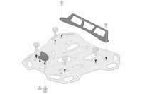 Sw-Motech Adapter kit for ADVENTURE-RACK Black. For...