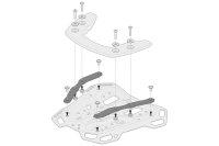 Sw-Motech Adapter kit for ADVENTURE-RACK For Krauser...