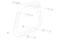 Sw-Motech Adapter kit for EVO carrier 2 pcs. For Givi...
