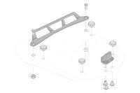 Sw-Motech Adapter kit for STEEL-RACK For Givi Monolock.