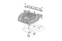 Sw-Motech Adapter plate for ALU-RACK For Givi/Kappa...