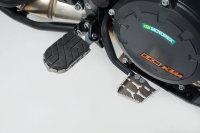 Sw-Motech Extension for brake pedal Silver. KTM models.