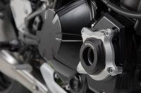 Sw-Motech Engine case protector Black/Silver. Kawasaki...