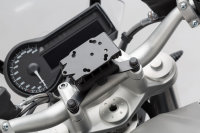 Sw-Motech GPS mount for handlebar Black. BMW / Triumph...