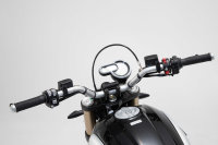 Sw-Motech GPS mount for handlebar Black. Ducati Scrambler...