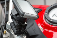 Sw-Motech GPS mount for handlebar Black. Ducati...