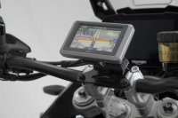 Sw-Motech GPS mount for handlebar Black. Honda / Suzuki /...