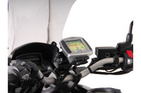 Sw-Motech GPS mount for handlebar Black. Honda VFR 1200 X...