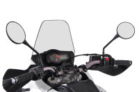 Sw-Motech GPS mount for handlebar Black. Shock absorbent.