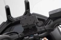 Sw-Motech GPS mount for crossbar Black. Yamaha MT-07...