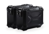 Sw-Motech TRAX ADV aluminium case system Black. 37/37 l....