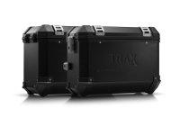 TRAX ION Alukoffer-System Schwarz. 37/45 l. Moto Guzzi...