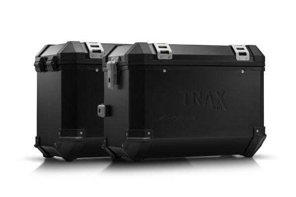 Sw-Motech TRAX ION aluminium case system Black. 45/45 l. Kawasaki Versys 1000 (18-).
