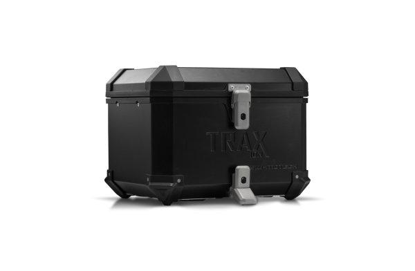 TRAX ION Topcase Aluminium. 38 l. Schwarz.